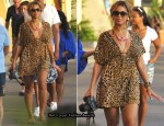 Sidewalk Style - Beyonce Knowles Loves Animal Print