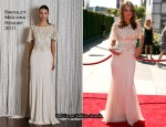 62nd Primetime Creative Arts Emmy Awards - Stana Katic In Badgley Mischka