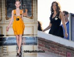 Runway To Photo Shoot - Jessica Alba In Miu Miu