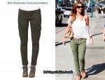 "In Audrina Patridge's Closet - AG Adriano Goldschmied ""The Slim"" Cargo Pants"