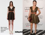 Audi And Chopard Emmy Week Kick-Off Party - Jessica Lowndes In Matthew Williamson