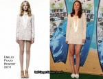 2010 Teen Choice Awards - Leighton Meester In Emilio Pucci