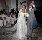 Tatiana Blatnik Marries Prince Nikolaos of Greece In Angel Sanchez