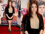 """Scott Pilgrim Vs. The World"" Dublin Premiere - Anna Kendrick In Juicy Couture"