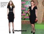 HBO's Annual Emmy Awards Party - Anna Paquin In Alexander McQueen