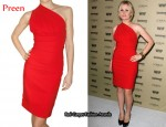 In Anna Paquin Closet - Preen 'Plaza' Dress