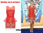 In Kristen Bell's Closet - Stella McCartney Embroidered Dress