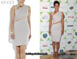 In Halle Berry's Closet - Gucci Cut-Away Dress