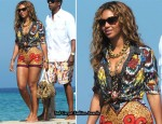Sidewalk Style – Beyonce Knowles In Dries Van Noten
