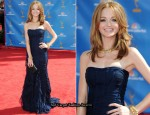 2010 Emmy Awards - Jayma Mays In Burberry Prorsum