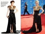 2010 Emmy Awards - Anna Paquin In Alexander McQueen