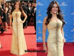 2010 Emmy Awards - Sofia Vergara In Carolina Herrera