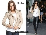 In Fergie's Closet - Gryphon Studded Biker Jacket