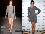 """The Disappearance of Alice Creed"" New York Screening - Gemma Arterton In Isabel Marant"