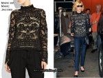 In January Jones' Closet - Marc by Marc Jacobs Bronte Lace Top