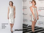 Audi And Chopard Emmy Week Kick-Off Party - Jayma Mays In Christian Cota
