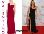 In Jennifer Aniston's Closet - Valentino One Shoulder Gown