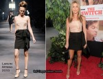 """The Switch"" LA Premiere - Jennifer Aniston In Lanvin"