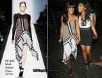 Runway To Katsuya - Kelly Rowland In BCBG Max Azria