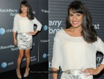 BlackBerry Torch Launch Party - Lea Michele In Jenni Kayne