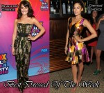 Best Dressed Of The Week - Lea Michele In Giambattista Valli & Eva Mendes In Oscar de la Renta
