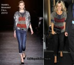Runway To Nobu Berkeley - Louise Redknapp In Isabel Marant