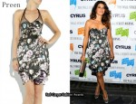 In Marisa Tomei's Closet - Preen Mona Floral Silk Dress