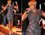 """Apollo In The Hamptons At The Creeks"" - Mary J Blige In Alexander McQueen"