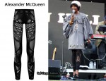 In Lauryn Hill's Closet – Alexander McQueen Celtic lace leggings