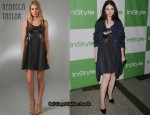 In Michelle Trachtenberg's Closet - Rebecca Taylor Paillette Dress