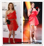 Who Wore Lanvin Better? Natalie Portman or Cat Deeley
