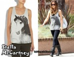 In Kate Beckinsale's Closet - Stella McCartney Horse Print Tank