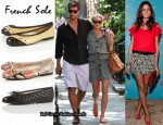 Olivia Palermo Loves Her French Sole Pumps