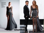 On The Gossip Girl Set With Blake Lively In Zuhair Murad