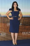 "2010 Deauville Film Festival ""The Dry Land"" Photocall - America Ferrera In Black Halo"