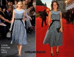 "2010 Venice Film Festival ""Somewhere"" Premiere – Delfina Fendi In Louis Vuitton"