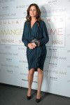 """Eat Pray Love"" Paris Premiere - Julia Roberts In Lanvin"