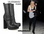 In Lindsay Lohan's Closet - Alexander Wang Tasha bandage leather boots