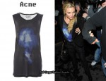In Kate Hudson's Closet - Acne 'Zone Print' Vest