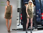 In Taylor Momsen's Closet - Alice + Olivia Jessica T Back Zip Dress