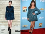 """Glee"" Season 2 Premiere – Lea Michele In Erdem"