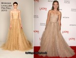 LACMA Presents 'The Unmasking' – Olivia Wilde In Monique Lhuillier