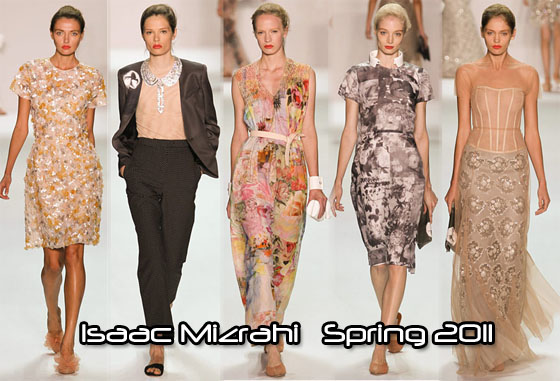 Isaac Mizrahi S Spring 2017 Collection Was Called Im Xerox As His Prints Looked Like They D Been Photocopied