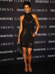 Swarovski Elements Present 22 Ways to Say Black - Halle Berry In Roberto Cavalli