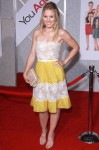 """You Again"" LA Premiere - Kristen Bell In Valentino"