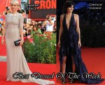 Best Dressed Of The Week - Michelle Williams In Jason Wu & Valeria Solarino in Emilio Pucci