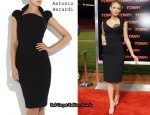 In Blake Lively's Closet - Antonio Berardi Crepe Pencil Dress