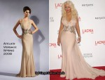 LACMA Presents 'The Unmasking' - Christina Aguilera In Atelier Versace