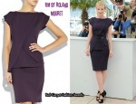In Carey Mulligan's Closet - RM by Roland Mouret Paveau Structured Dress