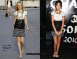 Chanel Soho Boutique Re-Opening - Alexa Chung In Chanel